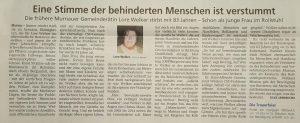 Lore Welker