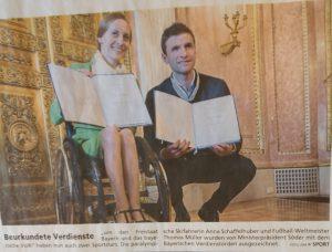 Verdienstorden für Anna Schaffelhuber