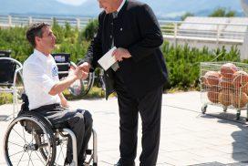 Florian Fischer und Anton Speer bei der 40Jahrfeier des RSV
