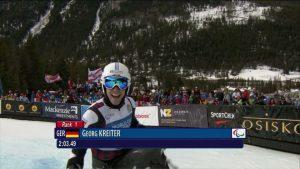 Georg Kreiter wird Monoski-Doppelweltmeister